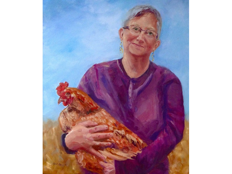 River Clay artist Carol Berning
