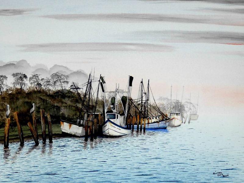 River Clay artist Michael Davis
