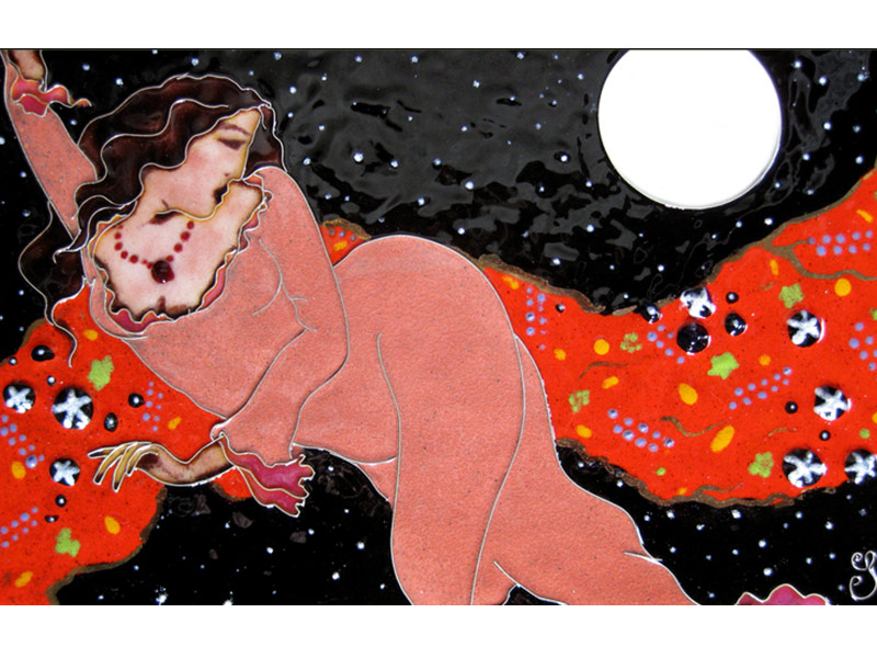 River Clay artist Carol Jayne