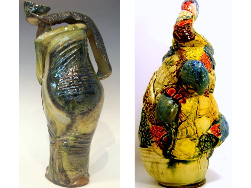 River Clay artist Joseph Frye