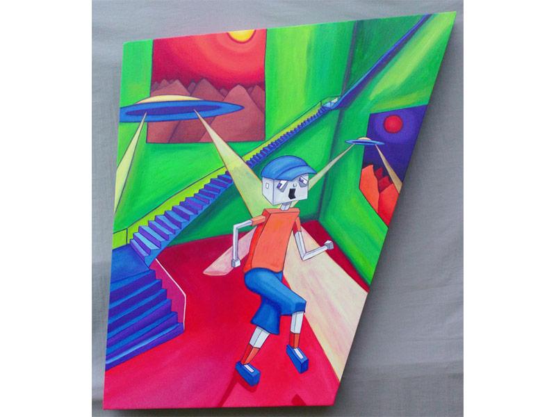River Clay artist Scotty White