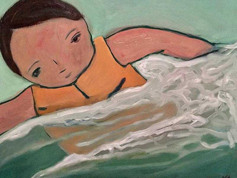 River Clay artist Daniel White